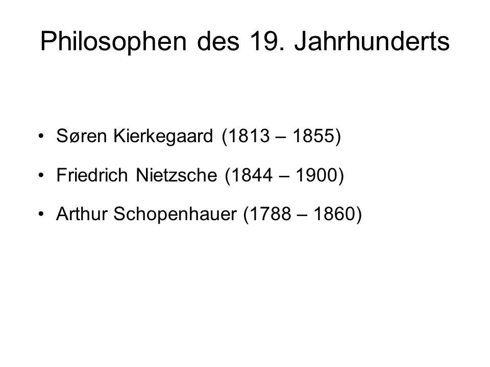 Philosophen des 19.