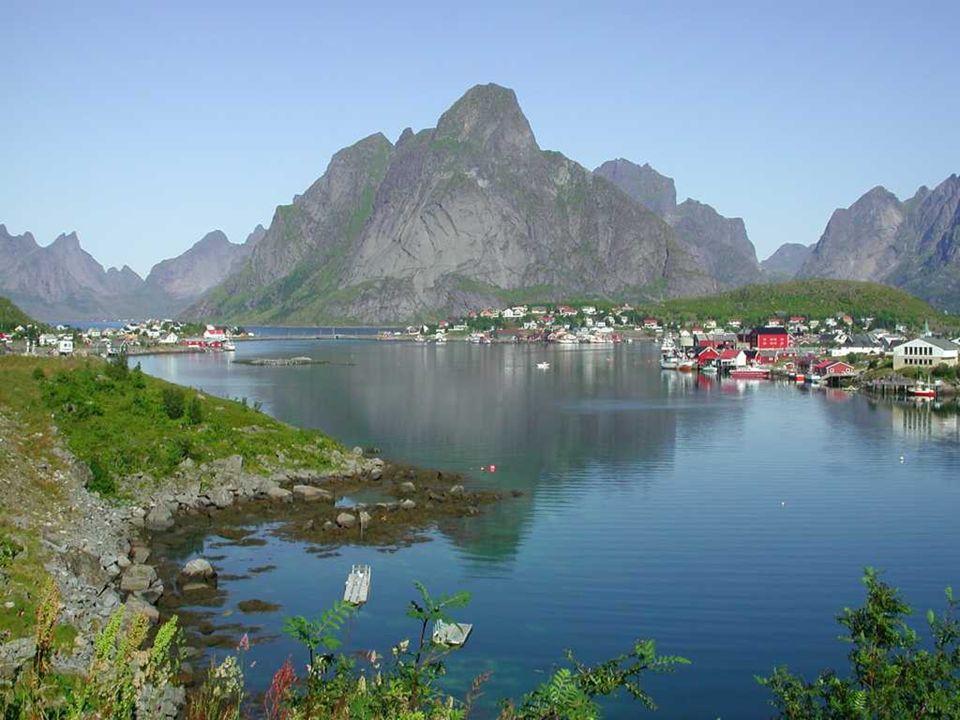 LOFOTI Inselgrupe in Norwegen. Es liegt in der Provinz Nordland, über den Arktischen Polar Kreis.