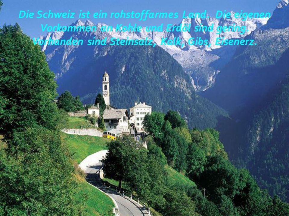 Berühmte Alpen im Süden