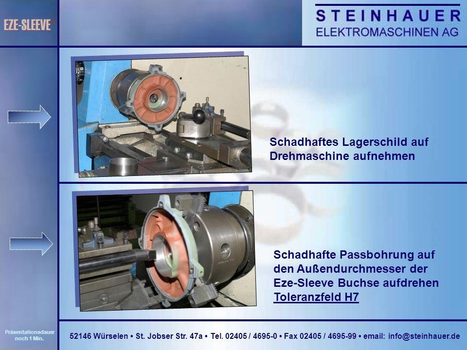 Lagerschild mit Loctite Activator 7471 benetzen Eze-Sleeve Buchse mit Loctite Activator 7471 benetzen 52146 Würselen St.