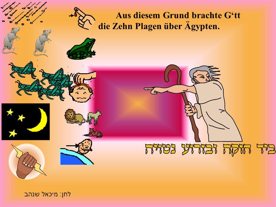 Aber der Pharao war eigensinnig und wollte das Volk nicht ziehen lassen.