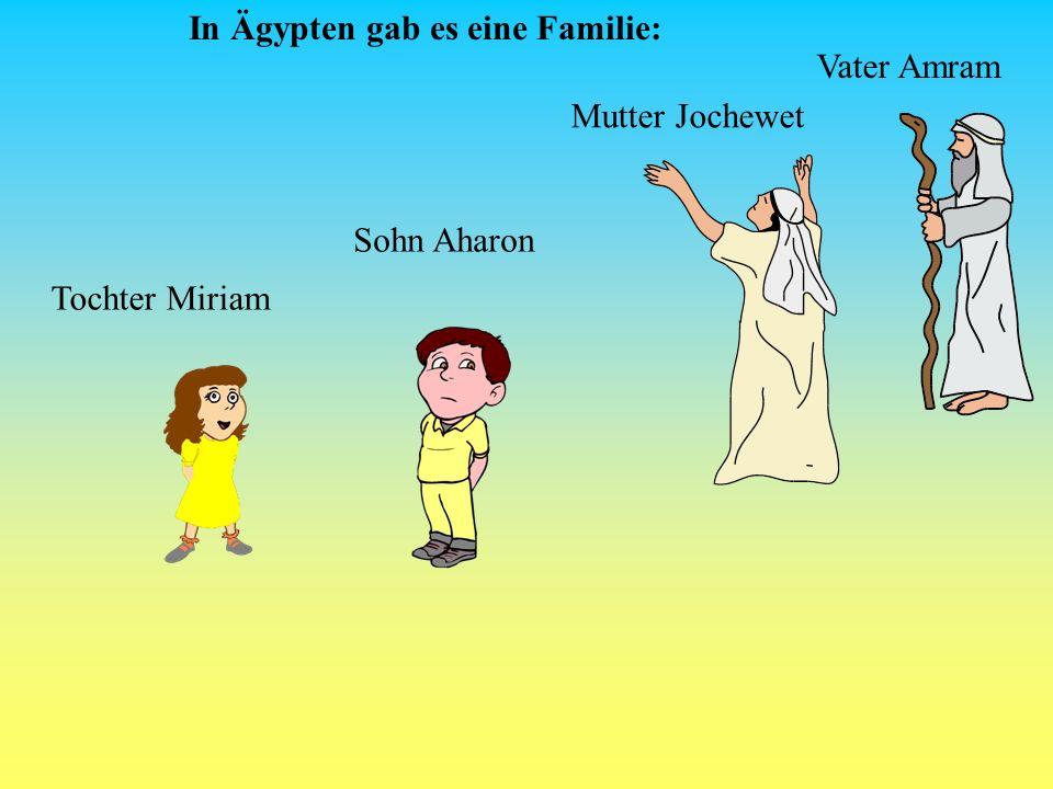 Jeder Junge soll in den Nil geworfen werden, und jedes Mädchen soll leben! Eines Tages beschloss der Pharao, das Volk Israel zu vernichten und befahl: