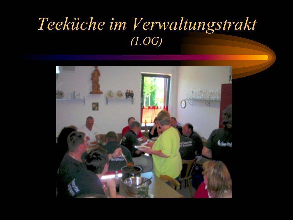 Teeküche im Verwaltungstrakt (1.OG)