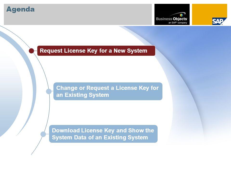 Where to Request License Keys Keys & Requests License Keys