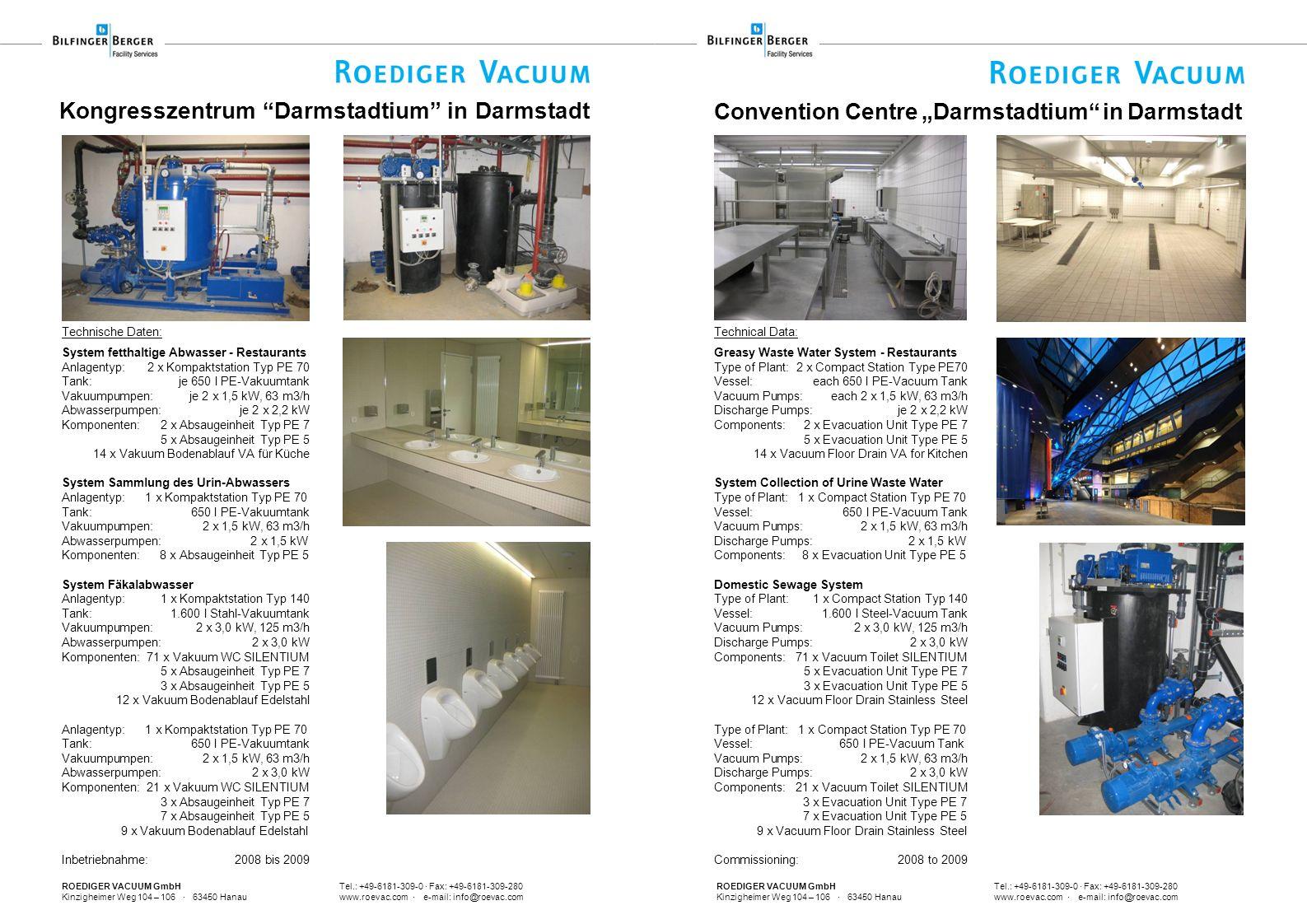 ROEDIGER VACUUM GmbH Tel.: +49-6181-309-0 · Fax: +49-6181-309-280 Kinzigheimer Weg 104 – 106 · 63450 Hanau www.roevac.com · e-mail: info@roevac.com Co