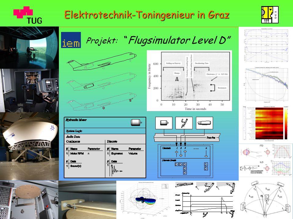 Projekt:Flugsimulator Level D Elektrotechnik-Toningenieur in Graz
