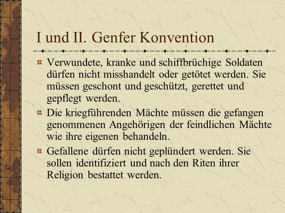 Genfer Konvention Art.