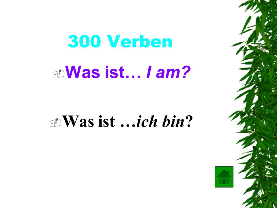 200 Verben Was ist… they come? Was ist …sie kommen ?