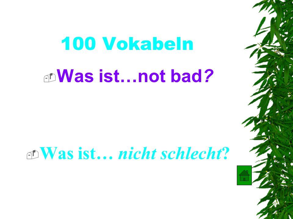 500 Verben Was ist… you all know s.o ? Was ist… ihr kennt?