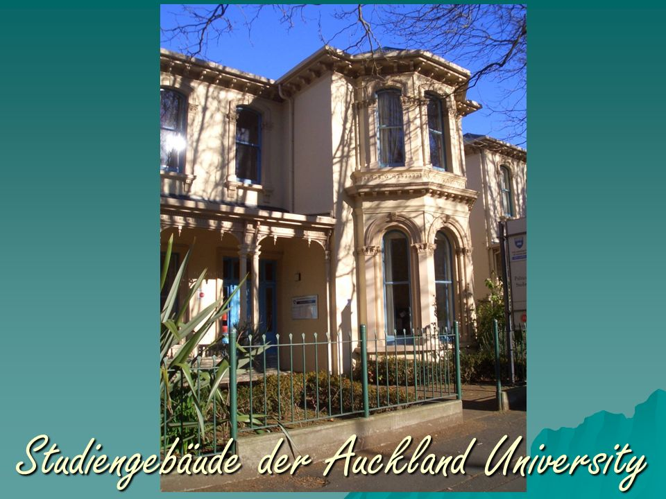 Studiengebäude der Auckland University