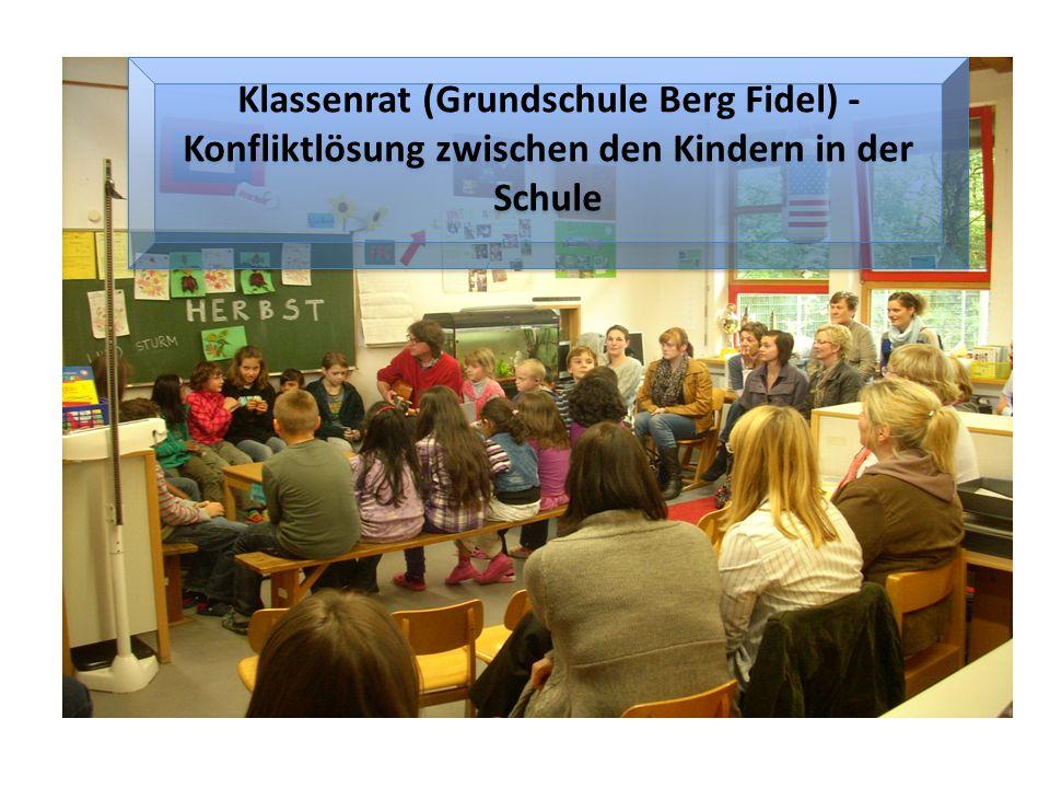Klassenrat (Grundschule Berg Fidel) - Konfliktlösung zwischen den Kindern in der Schule