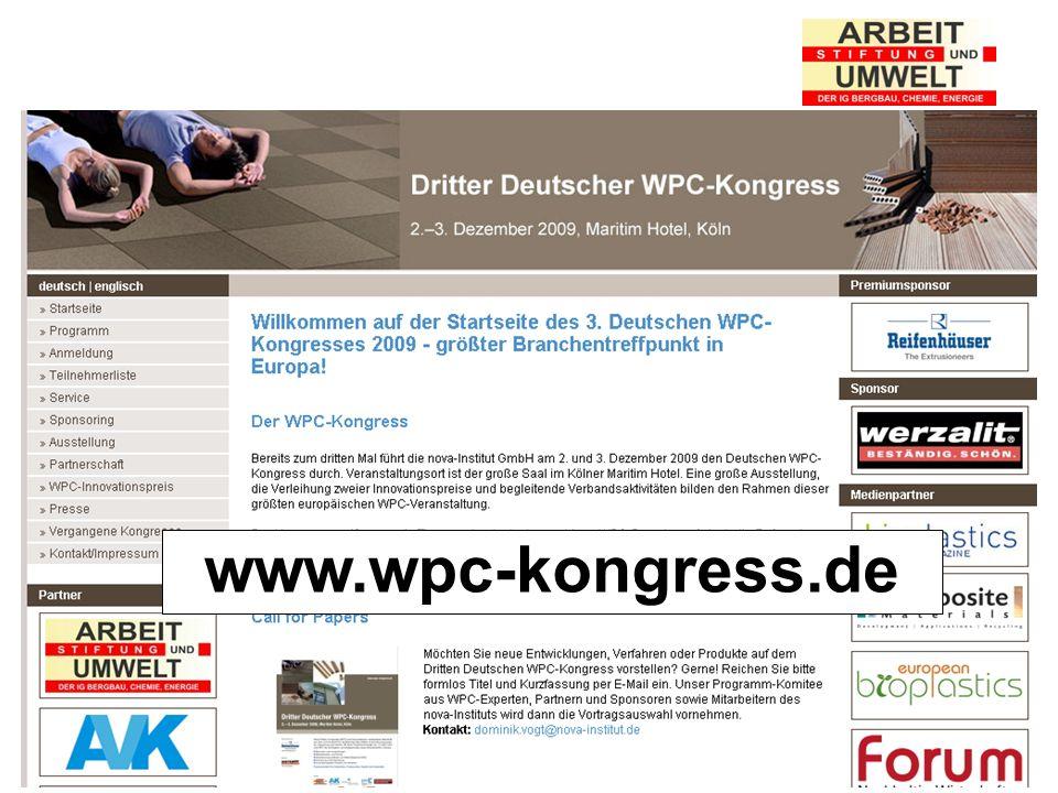 Stiftung Arbeit und Umwelt der IG BCE www.wpc-kongress.de