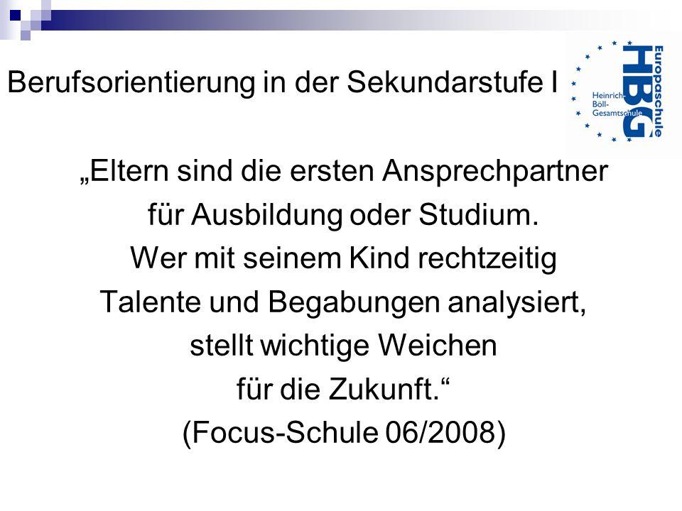 Ansprechpartner Frau Rottlaender und Frau Kummer Koordinatorinnen für Berufsorientierung (Raum B 118) Herr Woynack – Berufsberater der Agentur für Arbeit (monatliche Sprechzeit an der HBG)