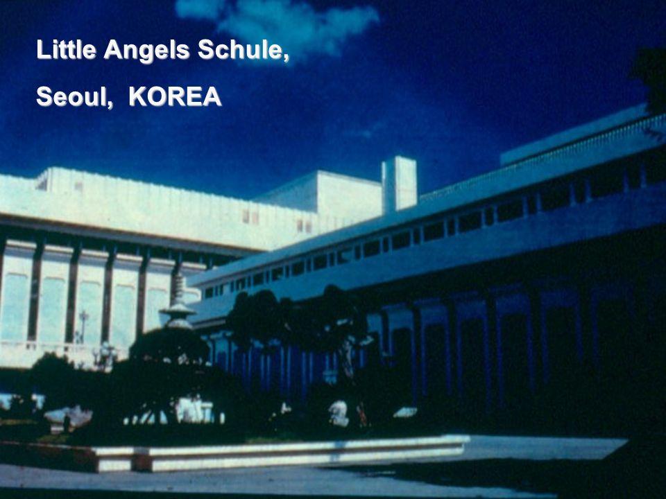 Little Angels Schule, Seoul, KOREA