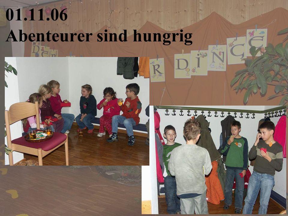 01.11.06 Abenteurer sind hungrig
