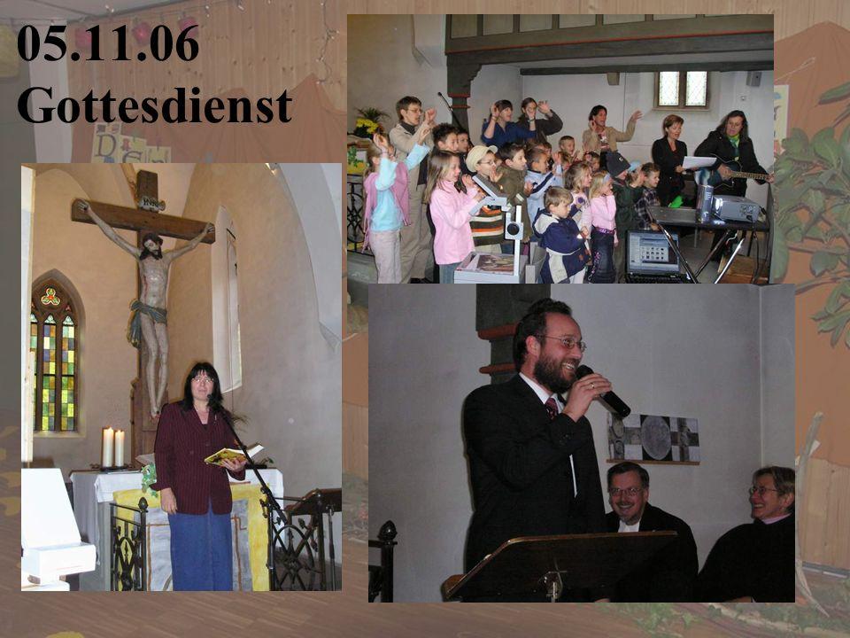 05.11.06 Gottesdienst