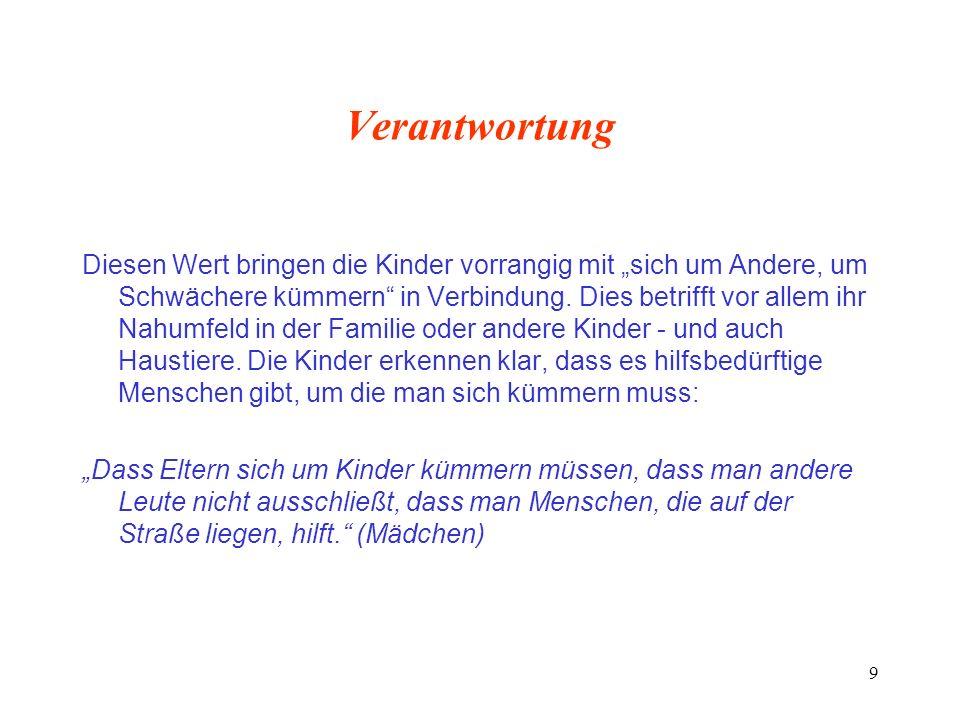 30 Werte und Erziehung Anna Freud (1895-1982) Adoleszenz als normale Gestörtheit Abwehr gegen infantile Bindungen