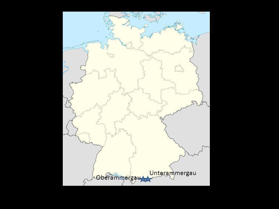 Oberammergau Unterammergau