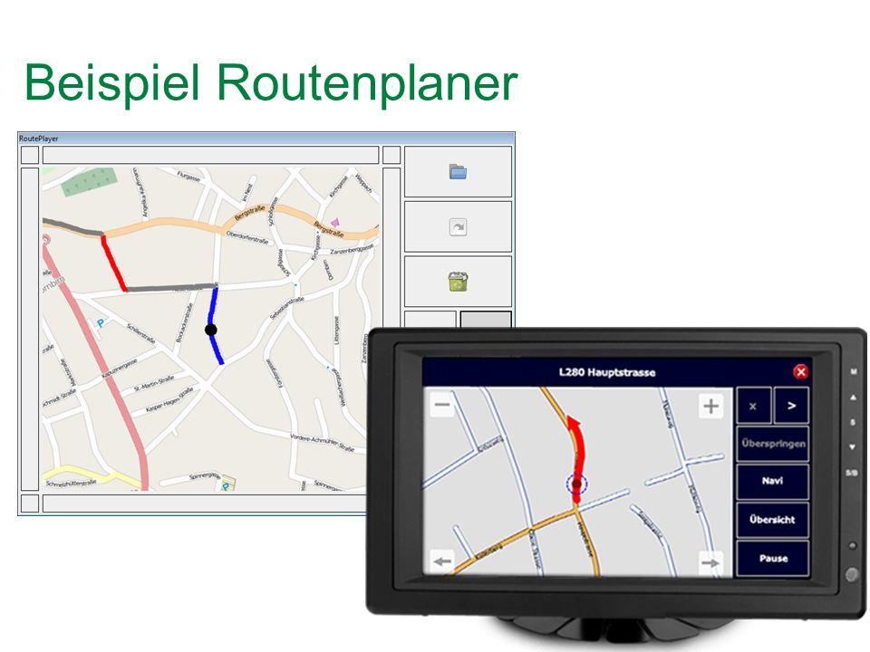Beispiel Routenplaner