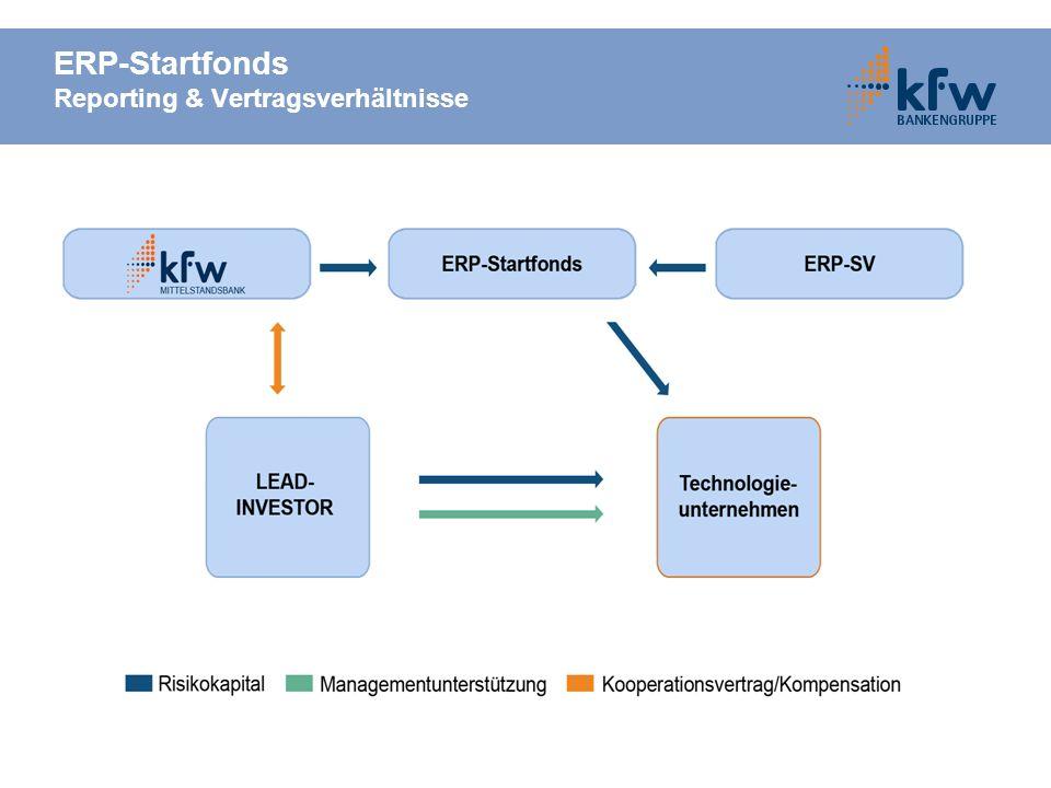 ERP-Startfonds Reporting & Vertragsverhältnisse