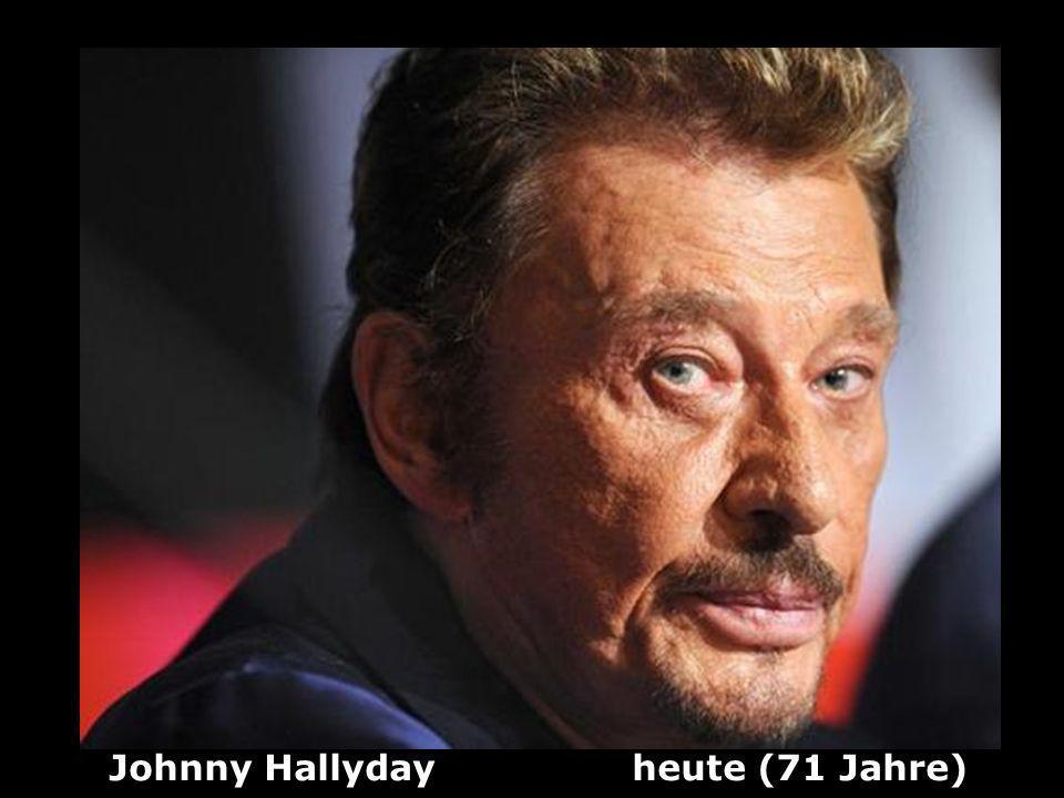 Johnny Hallyday (1943 ) Sänger und Schauspieler