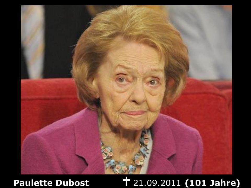Paulette Dubost (1910) Schausielerin