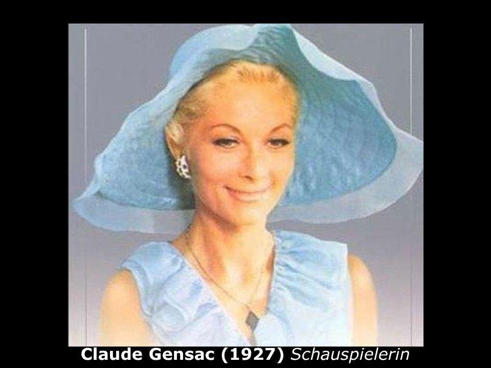 Claude Gensac (1927) Schauspielerin