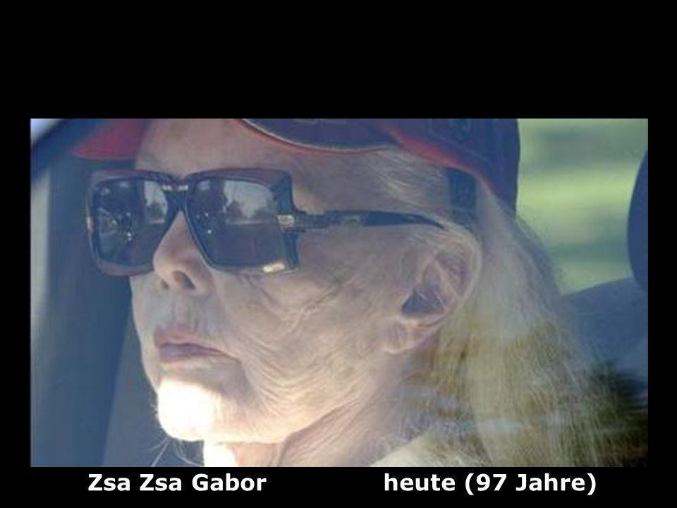 Zsa Zsa Gabor (1917) Schausielerin