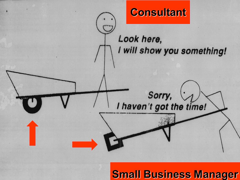 Consultant Small Business Manager