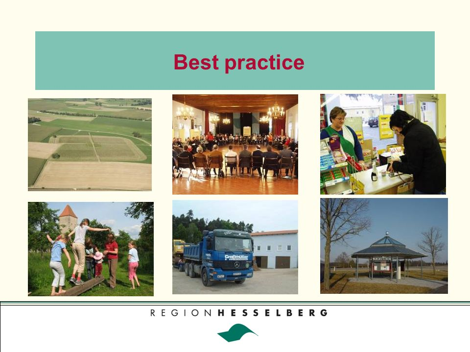 Regionalmesse Best practice