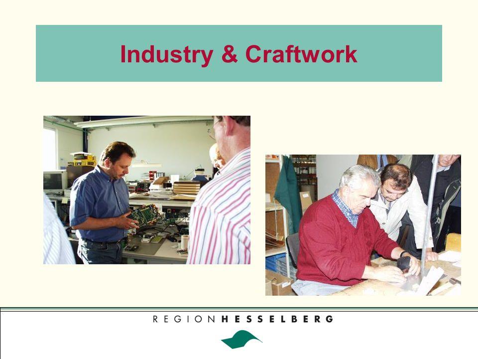 Industry & Craftwork Foto: Gerhard Rieß