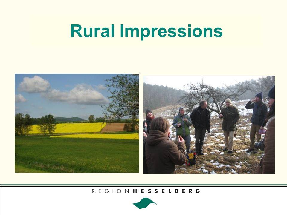 Visit of OECD Delegation in 2006 Zukunft ländlicher Räume future perspectives of rural aereas