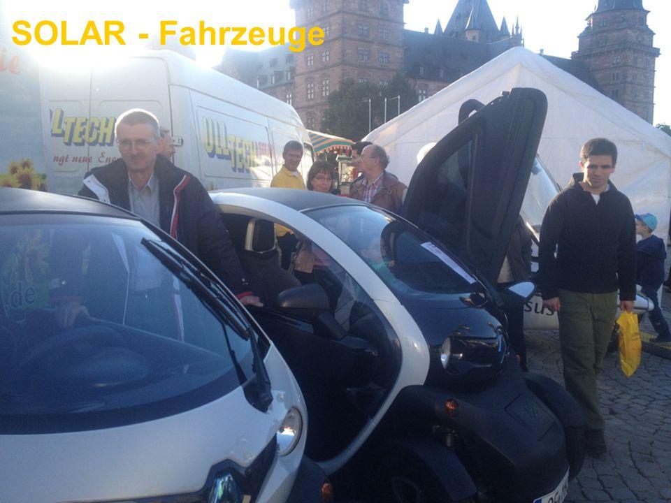 SOLAR - Fahrzeuge