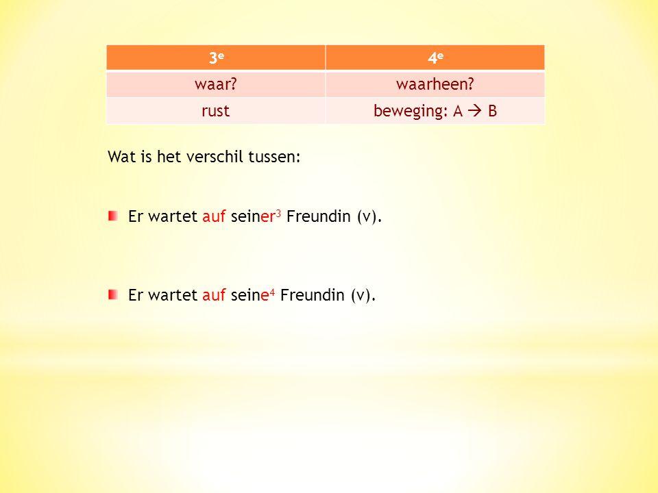 Let op: door verschil van naamval kan je heel verschillende betekenissen krijgen.
