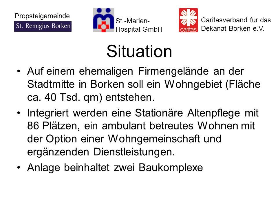 St.-Marien- Hospital GmbH Caritasverband für das Dekanat Borken e.V. Propsteigemeinde