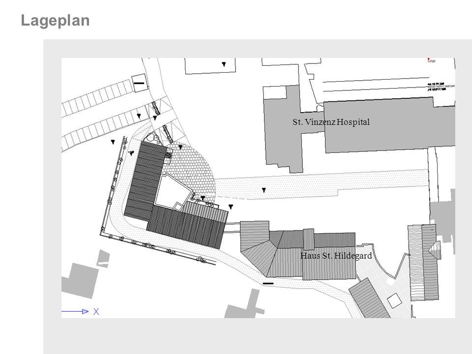 Lageplan St. Vinzenz Hospital Haus St. Hildegard