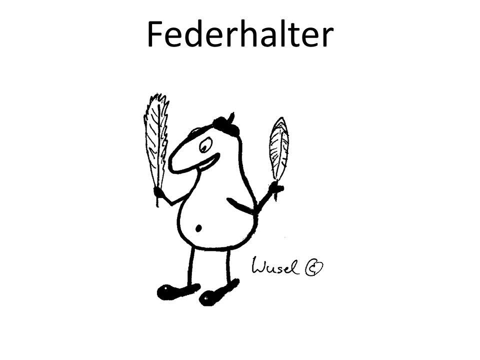 Federhalter