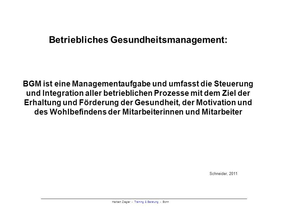 Herbert Ziegler - Training & Beratung - Bonn Mögliche Gründe für Blockaden / Widerstände Fremdbestimmung Jede Veränderung, die ein Mensch nicht selbst initiiert hat, sondern die von außen an ihn herangetragen wird, löst häufig erst einmal Unwillen aus.