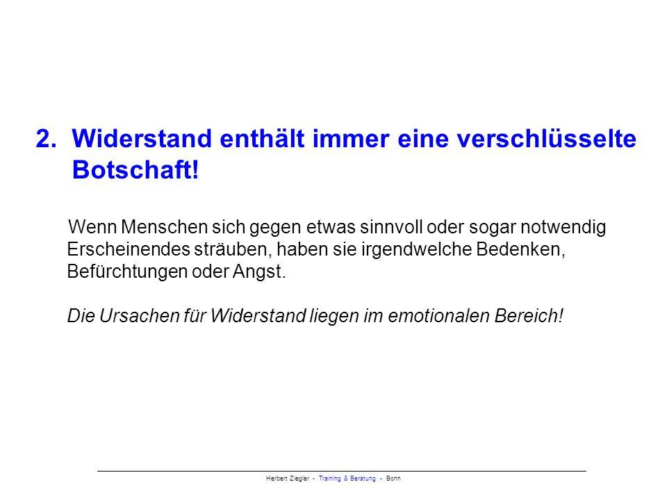 Herbert Ziegler - Training & Beratung - Bonn 2.