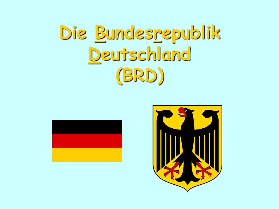 Die Bundesrepublik Deutschland (BRD)
