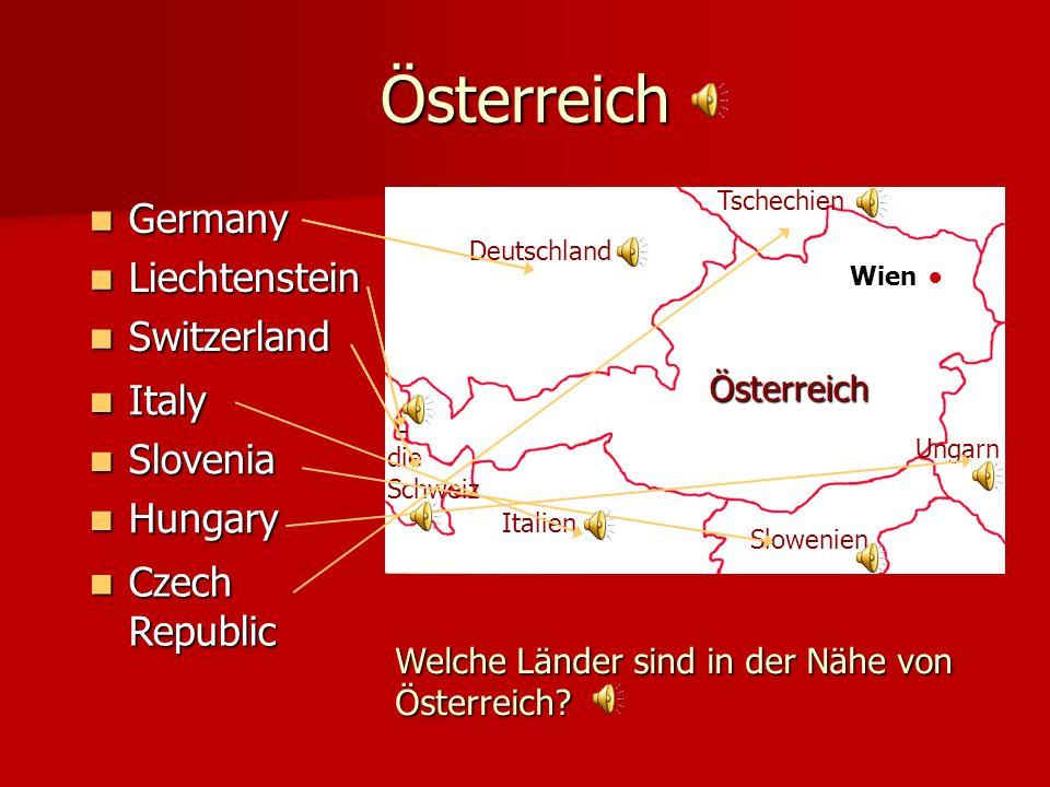 Österreich Germany Liechtenstein Switzerland Wien Österreich Deutschland Ungarn Italien Slowenien L.L.