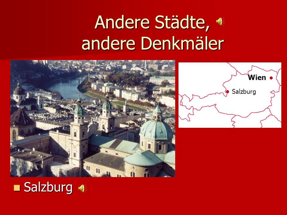 Andere Städte, andere Denkmäler Das goldene Dachl, Innsbruck Das goldene Dachl, Innsbruck Wien Innsbruck
