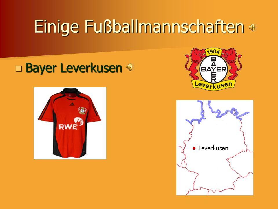 Einige Fußballmannschaften VfB Stuttgart VfB Stuttgart Stuttgart