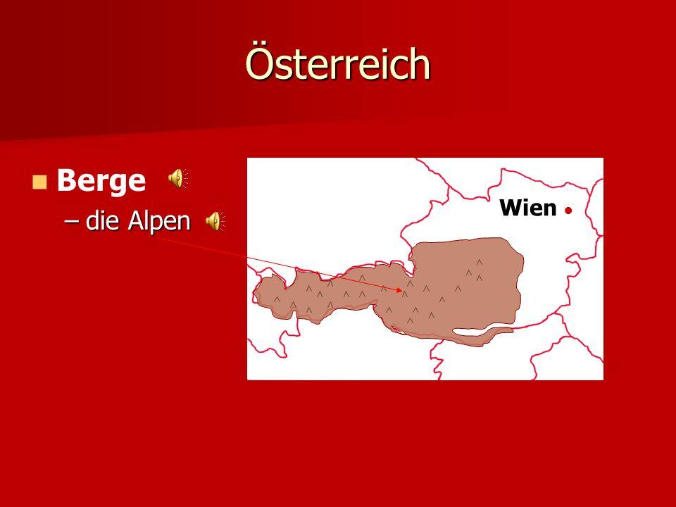 Österreich Wien Berge –d–d–d–die Alpen