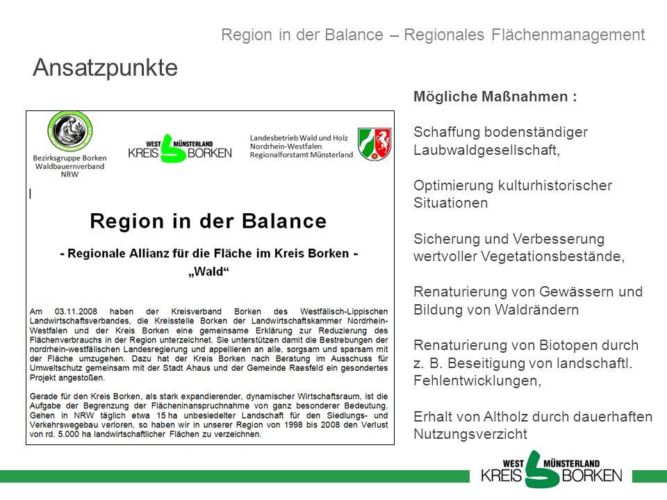 Mögliche Maßnahmen : Schaffung bodenständiger Laubwaldgesellschaft, Optimierung kulturhistorischer Situationen Sicherung und Verbesserung wertvoller V