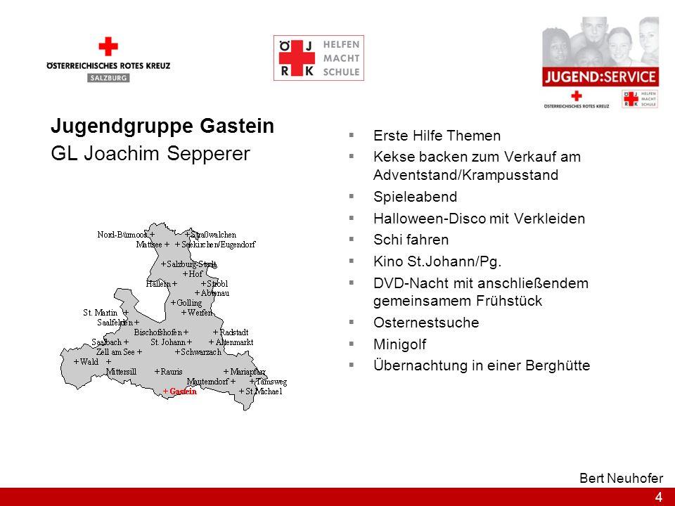 15 Bert Neuhofer Jugendgruppe Seekirchen / Eugendorf GL Ing.