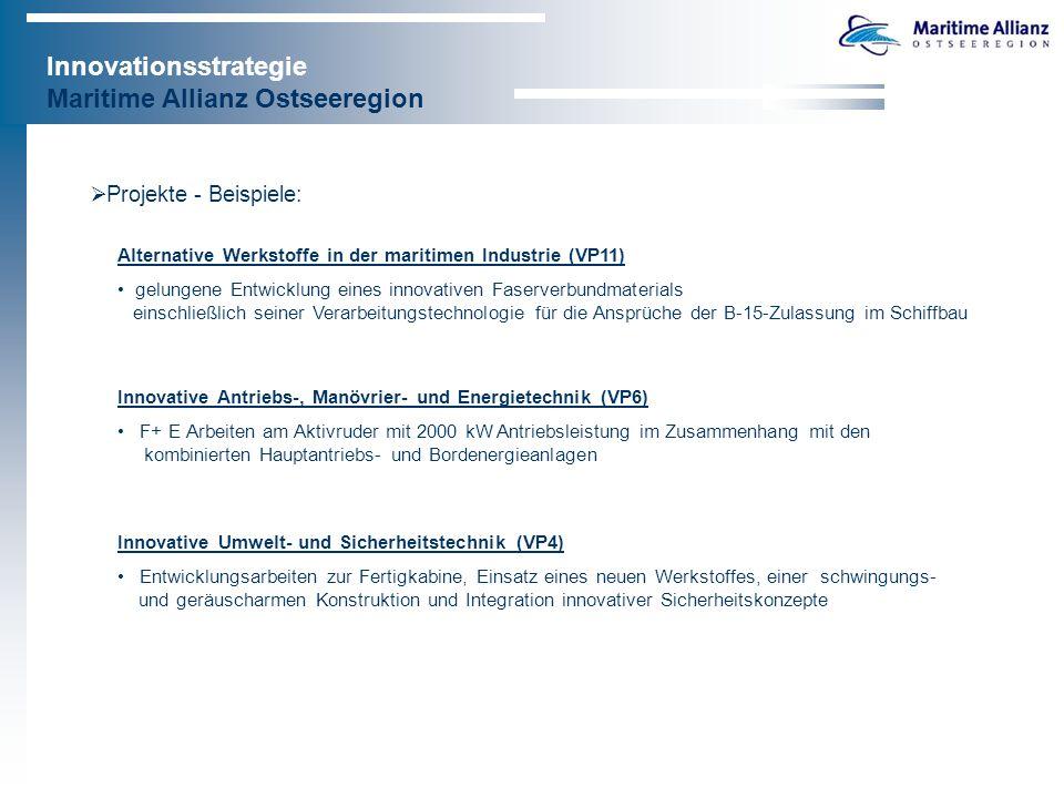 Innovationsstrategie Maritime Allianz Ostseeregion 4.