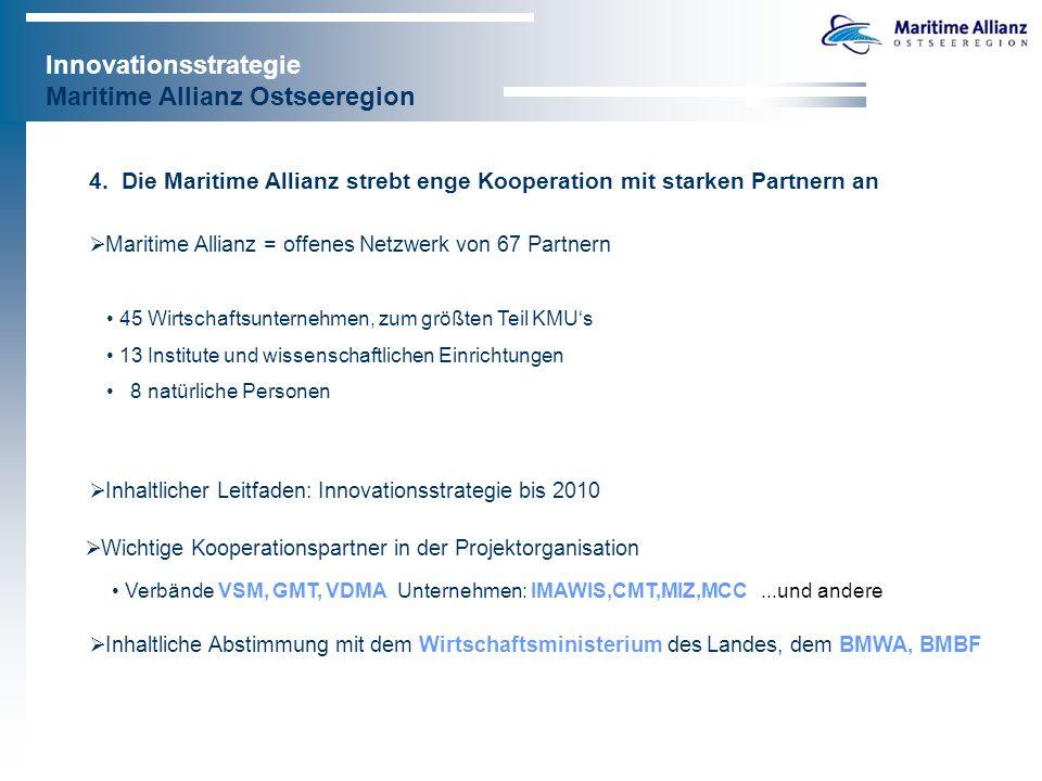 Innovationsstrategie Maritime Allianz Ostseeregion 5.