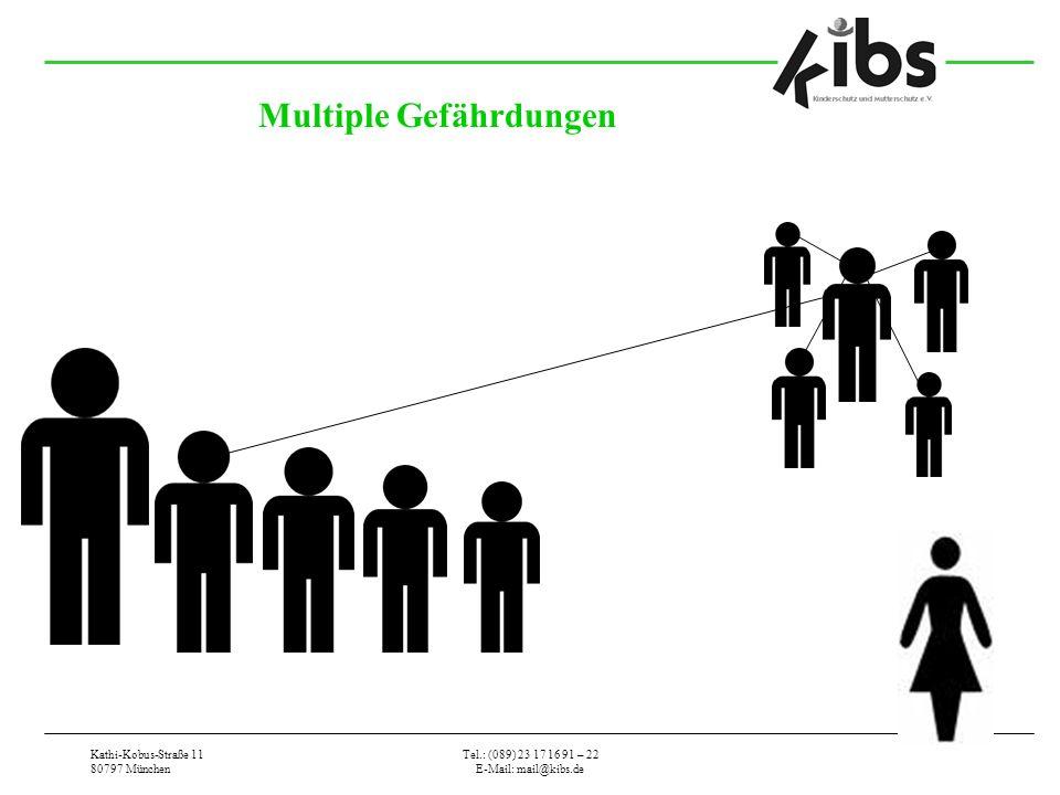 Kathi-Kobus-Straße 11 80797 München Tel.: (089) 23 17 16 91 – 22 E-Mail: mail@kibs.de Multiple Gefährdungen