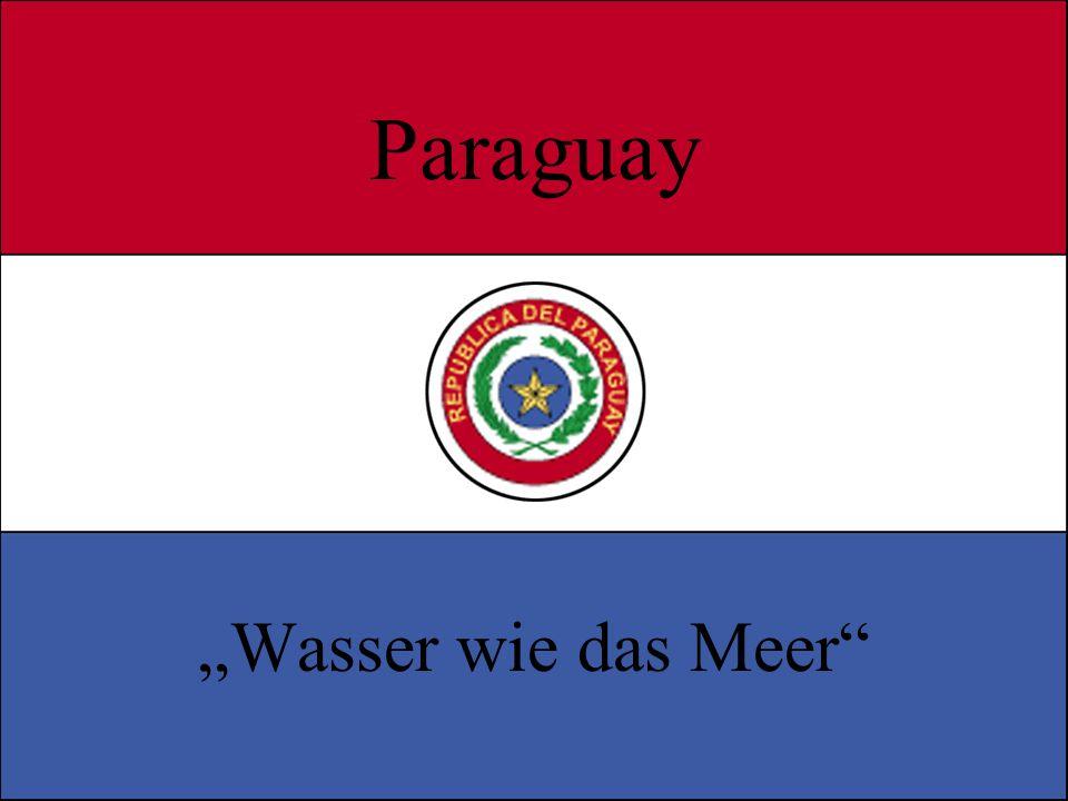 Paraguay Wasser wie das Meer